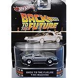 Back To The Future Time Machine DeLOREAN Hot Wheels Retro