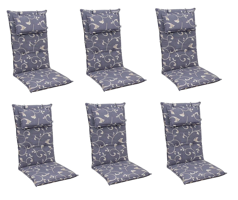6 x 8 cm doppler luxus hochlehner mit kopfkissen 2108 flieder lila mit ranken jetzt bestellen. Black Bedroom Furniture Sets. Home Design Ideas