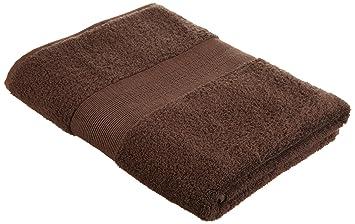 v v pinzon by amazon amazon 550g m2 lot de serviettes 100 coton coton marron. Black Bedroom Furniture Sets. Home Design Ideas