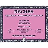 Arches Watercolor Paper Block, Hot Press, 18