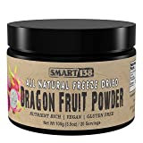 Dragon Fruit (Pitahaya) Powder, 100g/3.5oz, Freeze Dried Purple, All Natural Dragonfruit, BPA-Free (Color: Purple, Tamaño: 3.5 Ounces)
