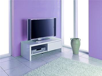 Haku Möbel 86309 Meuble TV Blanc