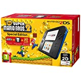 Nintendo 2DS ??? ?·? ?? New ???????????? ??????????? New Super Mario Bros 2 Special Edition (Color: Black/Blue With New Super Mario Bros. 2)