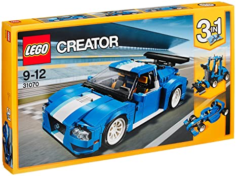 LEGO - 31070 - Creator - Jeu de Construction - Le bolide bleu