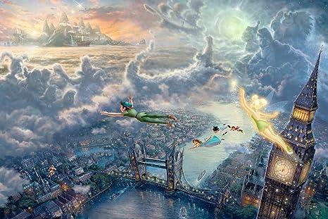 Peter Pan Clock Images 12x18 Full Image Peter Pan