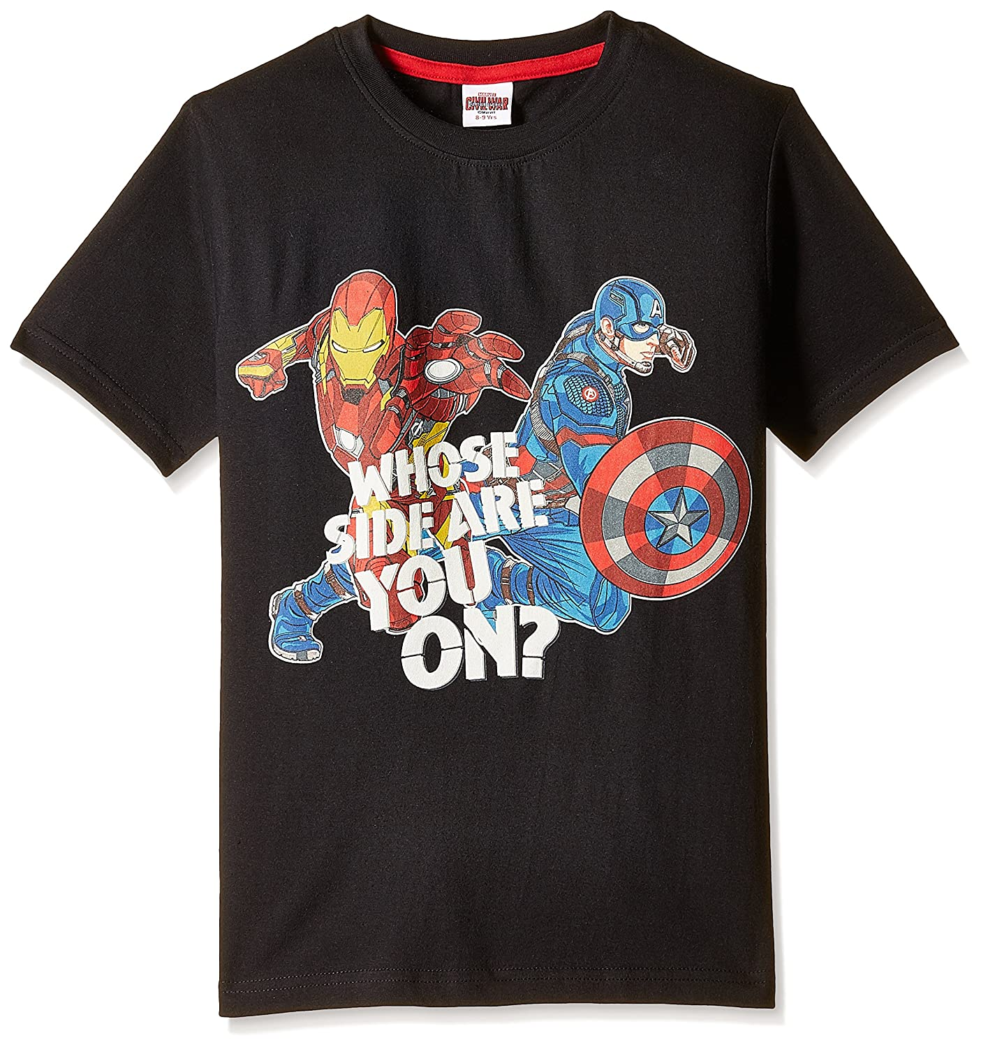 Marvel Boys' T-Shirt By Amazon @ Rs.249