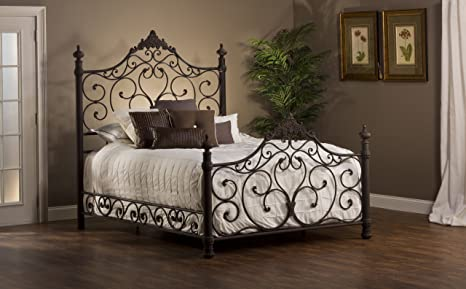 Hillsdale Baremore Bed in Antique Brown - Queen