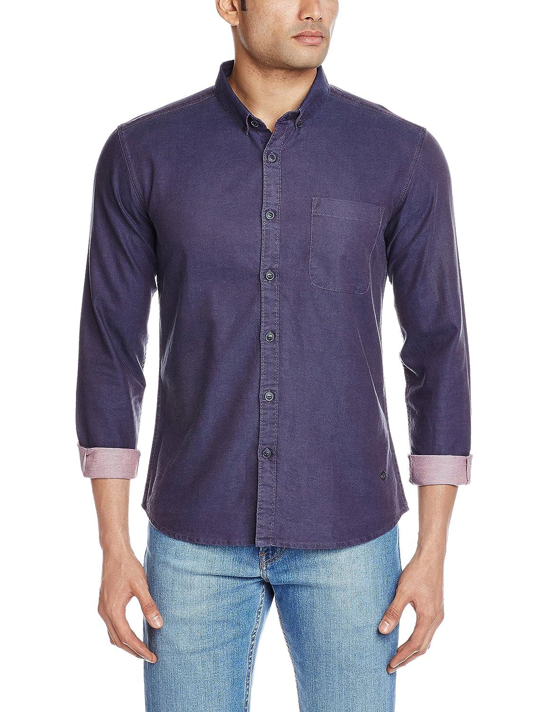 Amazon: VOI Jeans Men's Casual Shirt @ Rs.499/- (74% OFF)