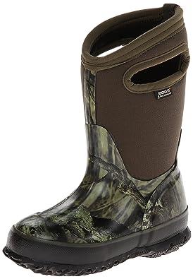 Bogs Kids Classic Mossy Oak Waterproof Winter & Rain Boot