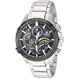 Casio Men's 'Edifice Connected' Quartz Stainless Steel Casual Watch, Color:Silver-Toned (Model: EQB-501XDB-1ACF) (Color: SILVER/BLACK/BLUE)