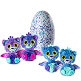 Hatchimals Surprise - Peacat - Hatching Egg with Surprise Twin Interactive Creatures by Spin Master, Ages 5 & Up (Color: Blue, Purple, Tamaño: 5.8 x 8 x 12 inches)