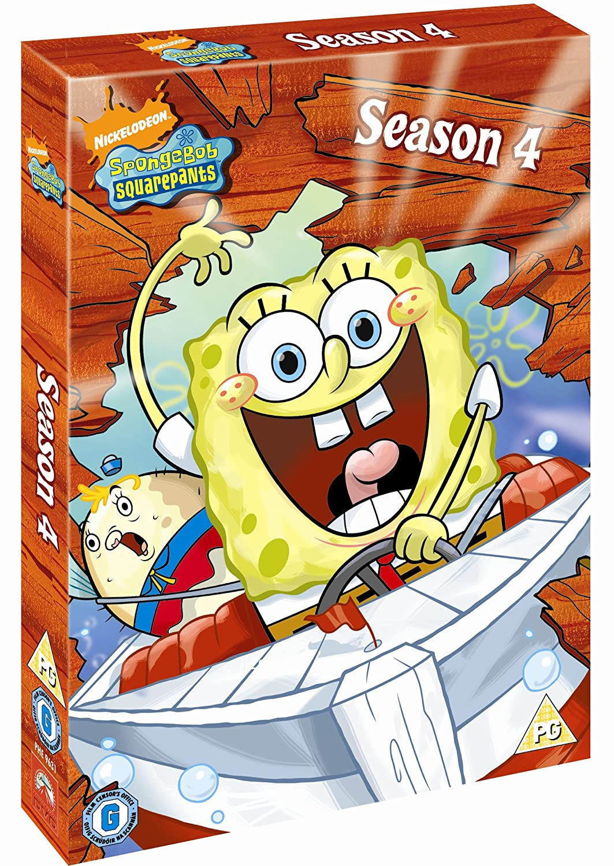 Spongebob Seasons Dvd Spongebob Complete Season 4