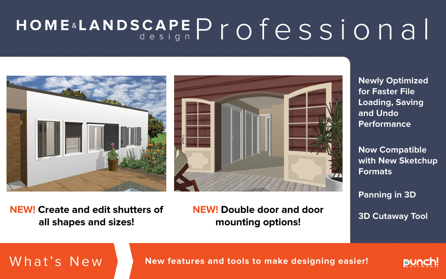 Punch home landscape design professional v19 home Professional interior design software