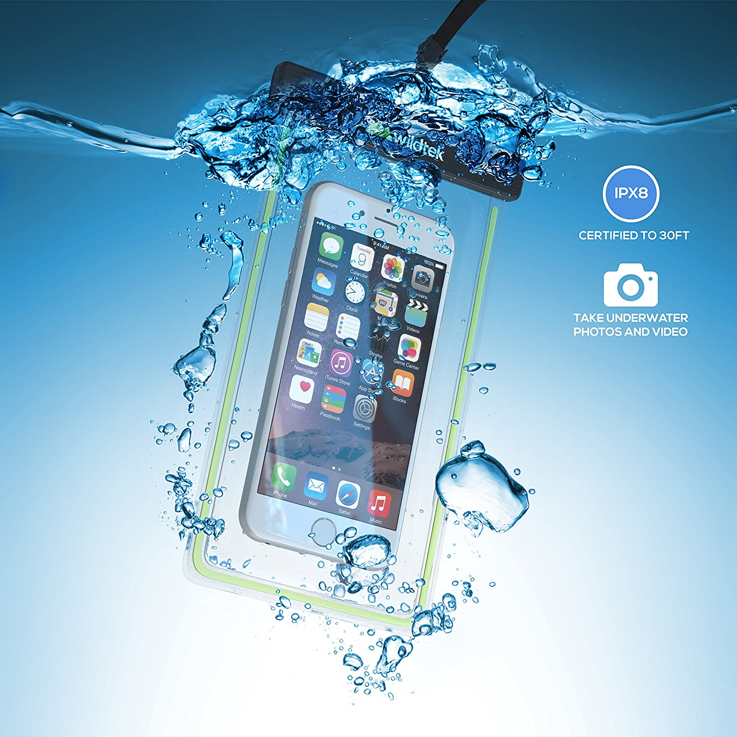 waterproof mobile holder