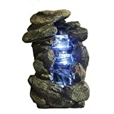 Major-Q 85139 Decoration Feng Shui Rock Like Waterfall Fountain with LED Light (Color: 14