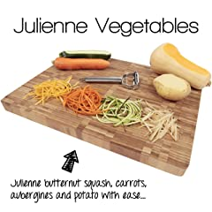 Precision Kitchenware Stainless Steel Dual Julienne & Vegetable Peeler