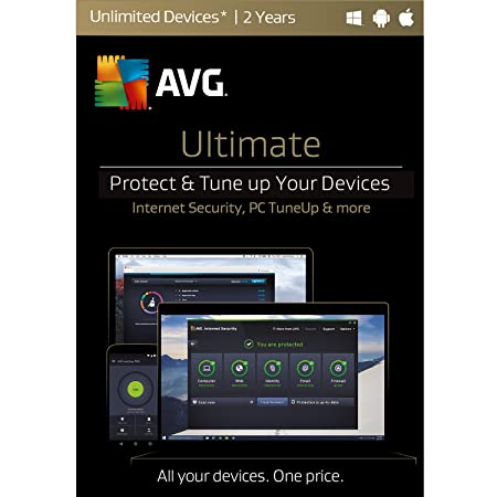 AVG Ultimate Unlimited 2 Years [Online Code]