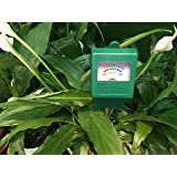 TACLIFE Upgraded Soil Moisture Meter (Color: Green, Tamaño: 10.8 x 1.4 x 1.8 inches)