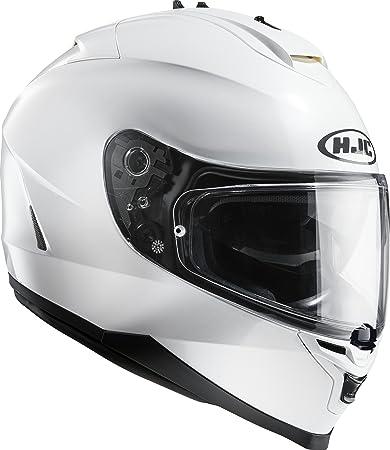 HJC - Casque moto - HJC IS-17 Metal Pearl White Ryan - M