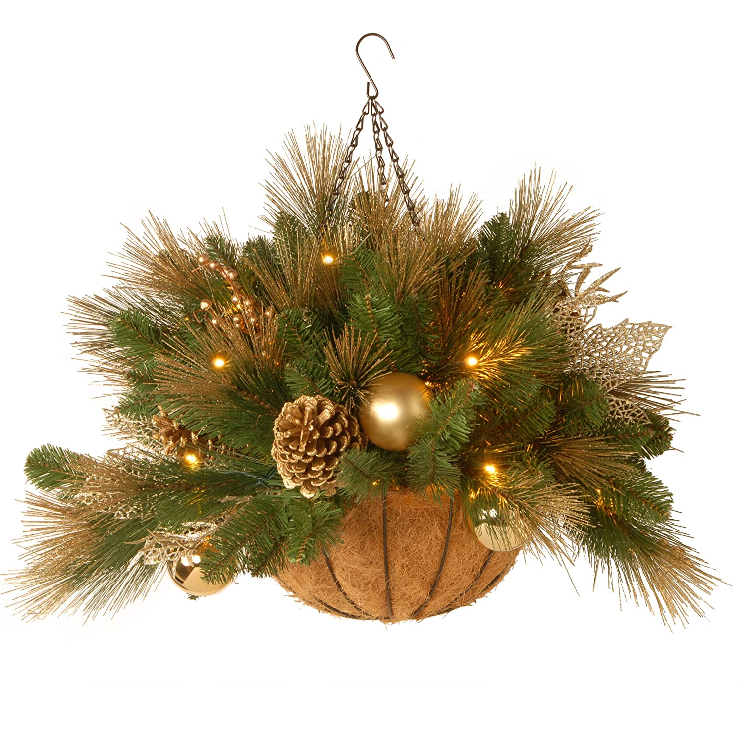 sylvania battery hanging basket with lightscheck price and reviews 919yiwggrdl_sl1500_jpg - Christmas Hanging Baskets