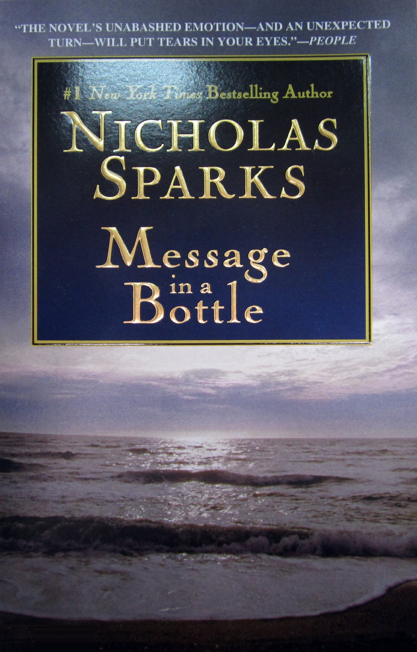 Buy Message In A Bottle Book Online At Low Prices In India  Message In A  Bottle Reviews & Ratings  Amazon