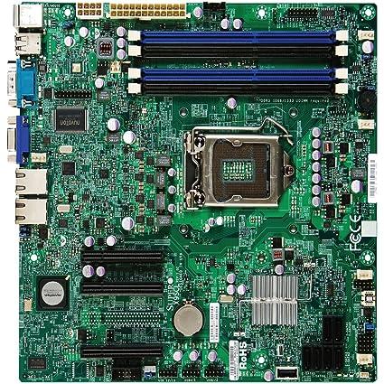 Supermicro MBD-X9SCL-O Carte mère Intel C202 Chipset PCH, SATA, LAN, SKT unique