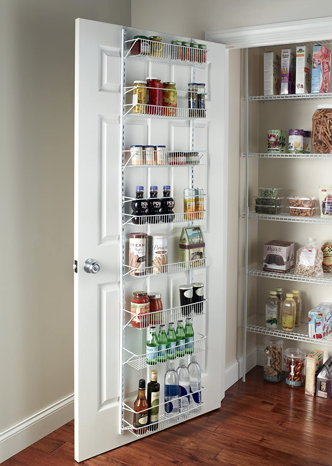 over the door pantry organizer large