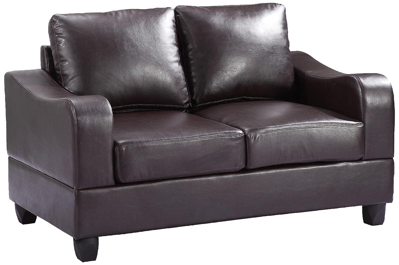 Glory Furniture G625-L Living Room Love Seat - Cappuccino