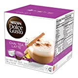 NESCAFÉ Dolce Gusto Coffee Capsules Chai Tea Latte 48 Single Serve Pods, (Makes 24 Specialty Cups) 48 Count (Color: Violets, Tamaño: 16 Count (Pack of 3))