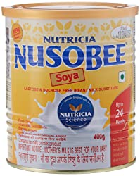 Nusobee Soya Infant Formula Tin - 400 g