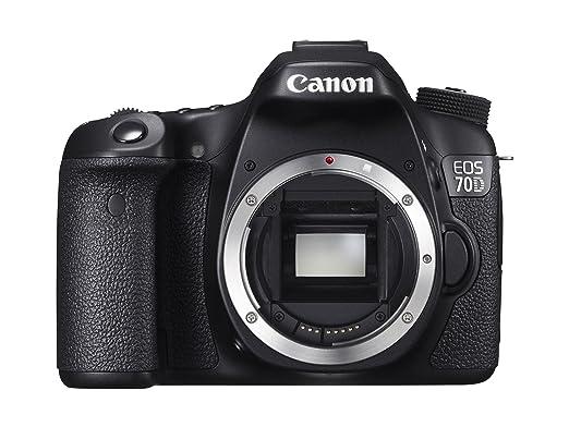 Canon 70D Appareil photo numérique Réflex 20,9 Mpix Boîtier Nu Noir