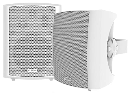 VISION SP-1800 Pair Wall Speakers White