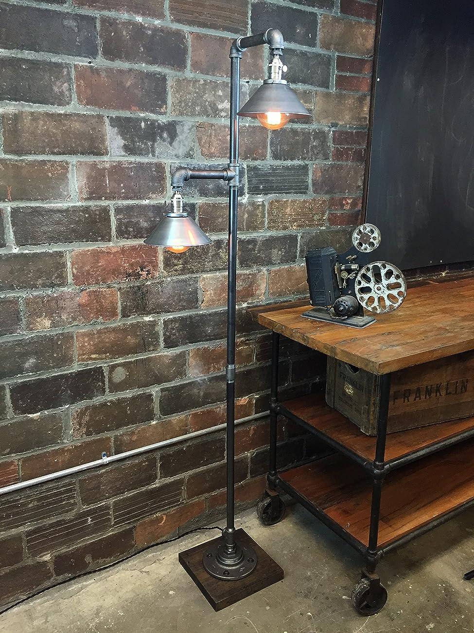 Industrial Floor Lamp - Edison Bulb Pendant 1