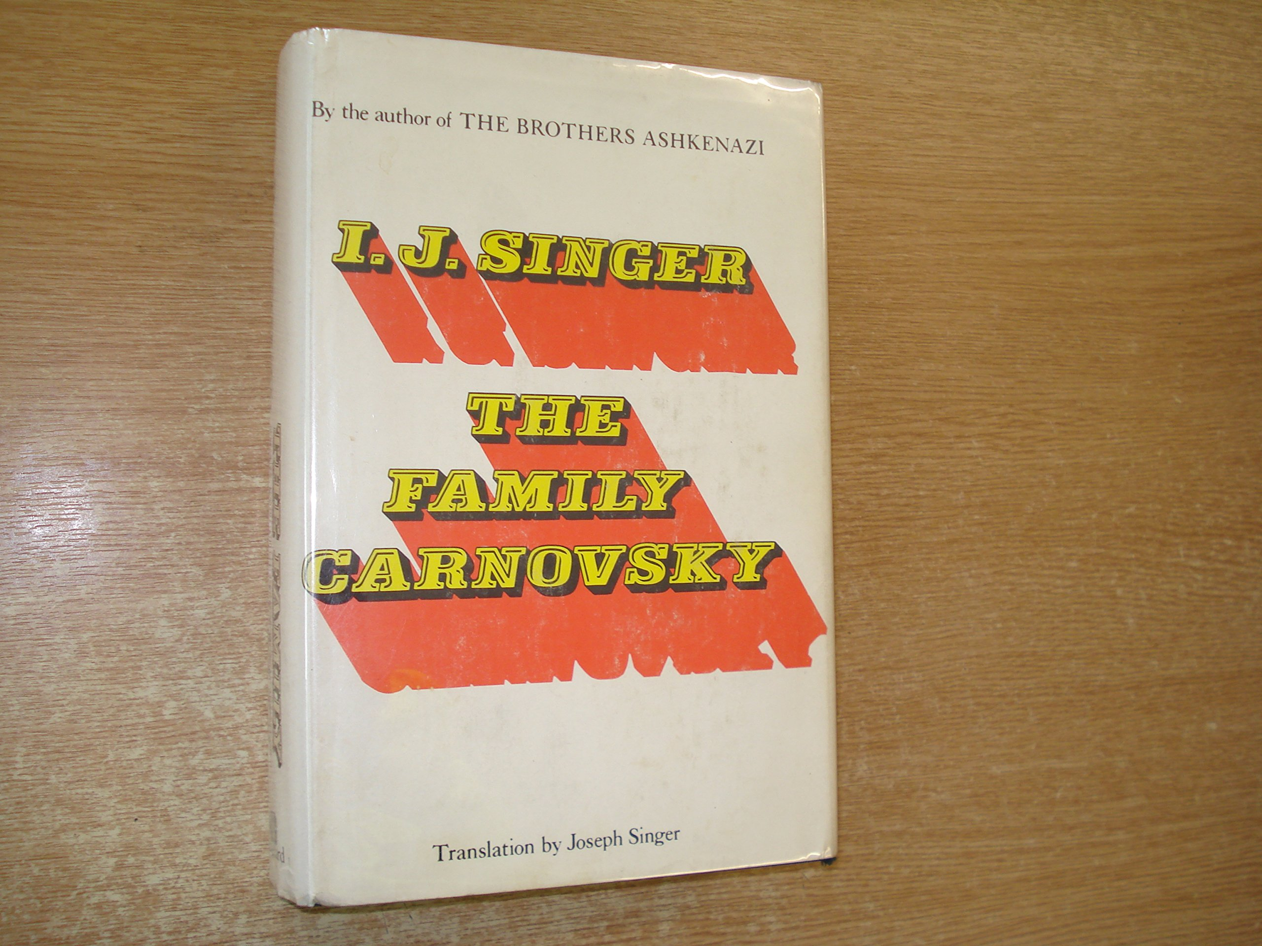 The family Carnovsky: Israel Joshua Singer: 9780814900031: Amazon.com: Books