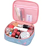 MKPCW Portable Travel Makeup Cosmetic Bags Organizer Multifunction Case Toiletry Bags for Women (Color: Blue, Tamaño: 9 x 7.5 x 3.35in)