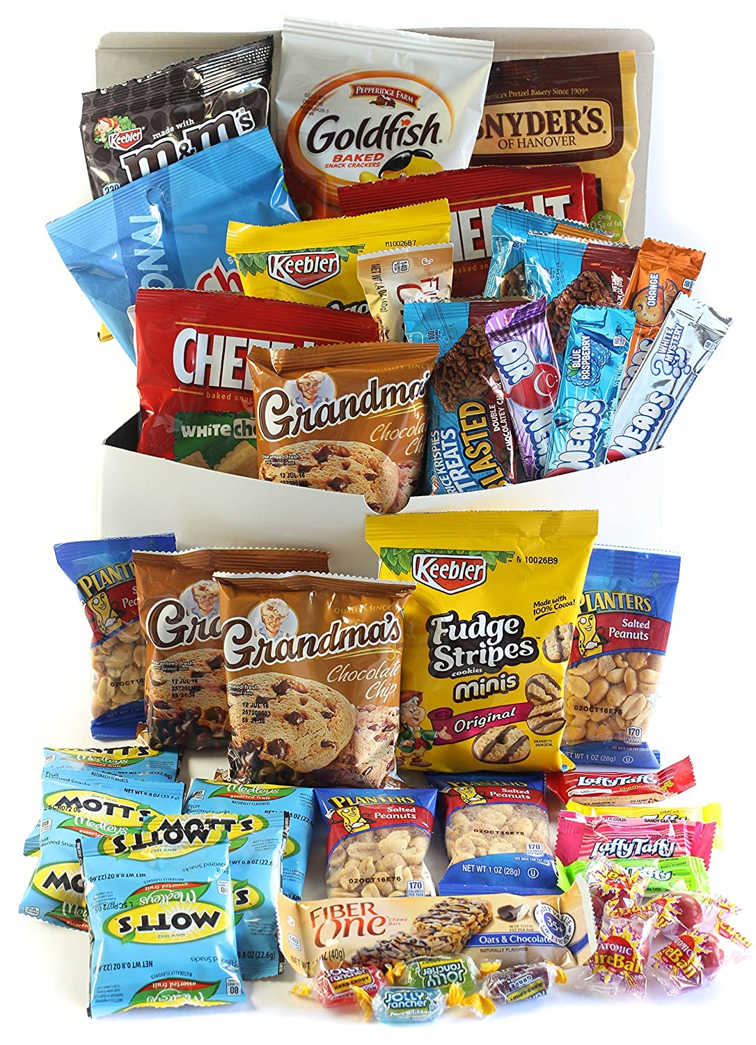 Cookies Chips & Candies Variety Pack Bundle Assortment Includes Cheez-It