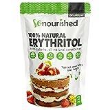 Granular Erythritol Sweetener (1 lb / 16 oz) - FREE 10 Keto Desserts PDF - No Calorie Sweetener, Non-GMO, Natural Sugar Substitute