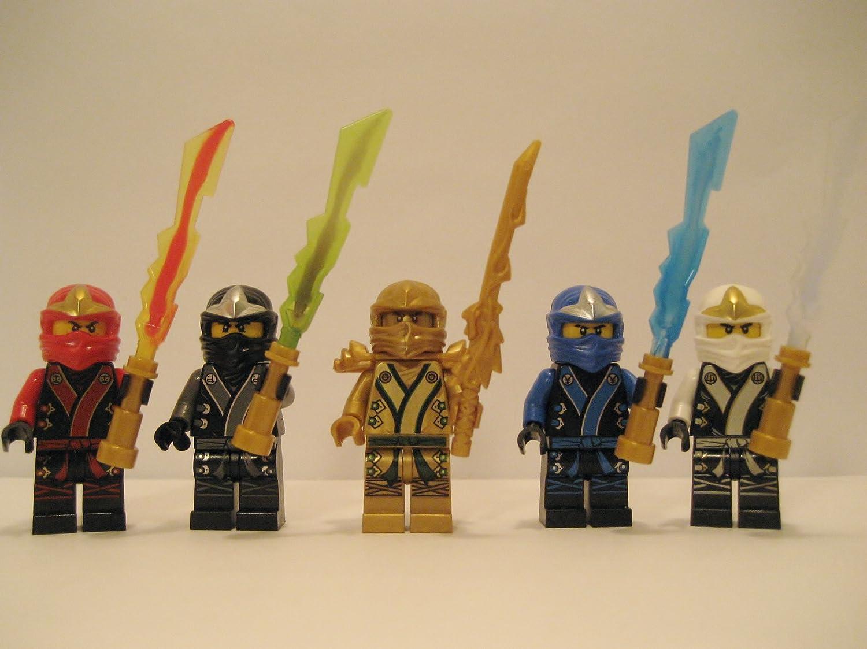 LEGO® 2013 Ninjago Kimono Ninja's – Set of 5 – Cole, Jay, Kai, Golden Lloyd, & Zane online kaufen