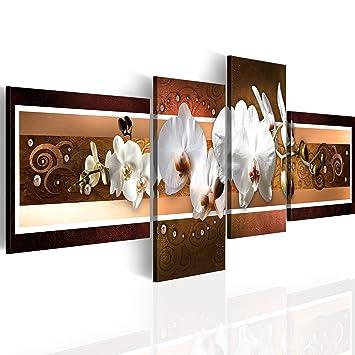 Impression Sur Toile 100x35cm 4 Parties Image