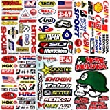 Motocross Dirt Bike Motorcycles Supercross ATV Lot 6 vinyl decals stickers D6014 (Color: White)