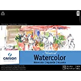 Canson Artist Series Montval Watercolor Pad, Cold Press, 18