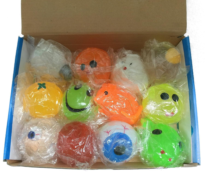 Squishy Splat Ball Assortment Pack (1 Dozen Splat Balls) splat