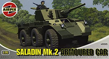 Airfix - A02325 - Construction et Maquettes - Bâtiment - Saladin MkII Armoured Car
