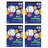 Pacon Art1st Tracing Paper Pad, 9 x 12 Inches, 50 Sheets (2312) (4)