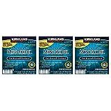 Kirkland Minoxidil 5 percentage Extra Strength Hair Loss Regrowth Treatment Men, 3 Pack (6 Months Supply)