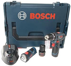 Bosch 0601990EV5 Akkubohrschrauber 0 615 990 EV5 GSR 10.8 V2LI und GLI 2 x 1.5 Ah  LBoxx  BaumarktKundenbewertung und Beschreibung