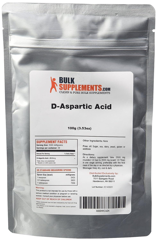 D Aspartic Acid Before And After Pure D-Aspartic Acid  DAA