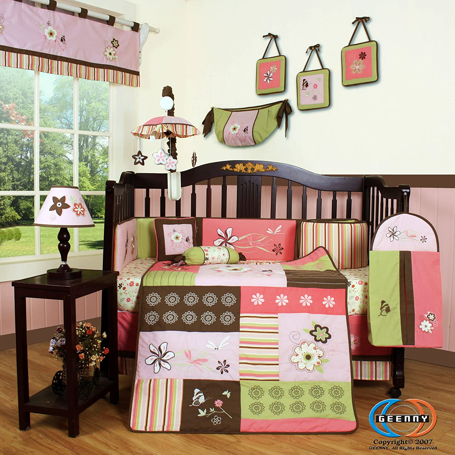 Boutique Floral Dream Crib Bedding