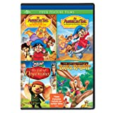 An American Tail: The Treasure of Manhattan Island / An American Tail: The Mystery of the Night Monster / The Tales of Despereaux / The Adventures of Brer Rabbit (Four Feature Films)