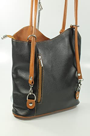 finest selection 42e6d c291b Belli, Borsa a zainetto donna Nero nero - xkenskdh